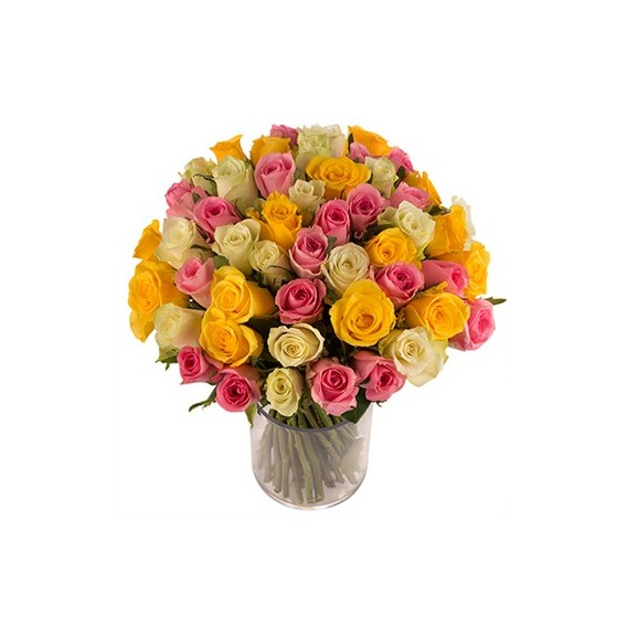 Bouquet de roses livraison de fleurs d 39 lys couleurs for Bouquet livraison