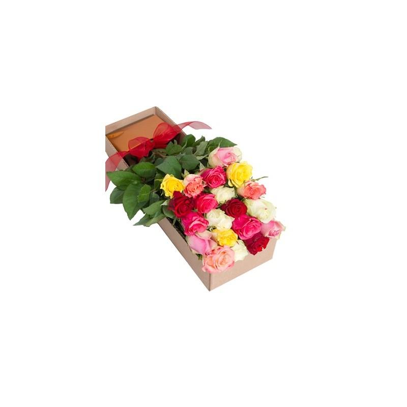 Bouquet de roses livraison fleurs et cadeaux d 39 lys couleurs for Livraison rose