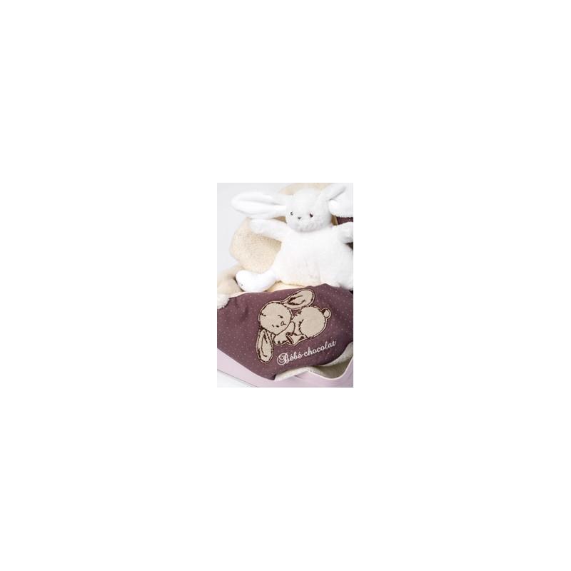 Cadeau De Naissance Set De Bain Cadeau Autour Du Chocolat D 39 Lys Couleurs