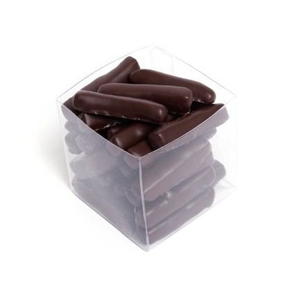 Gingembre confit et chocolat noir