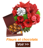 livraison fleurs chocolat