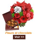 livraison fleurs chocolat