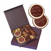 Chocolat à personnaliser avec message (livs étranger)