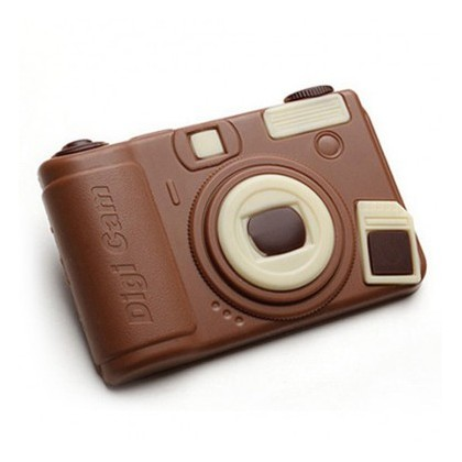 Appareil photo en chocolat