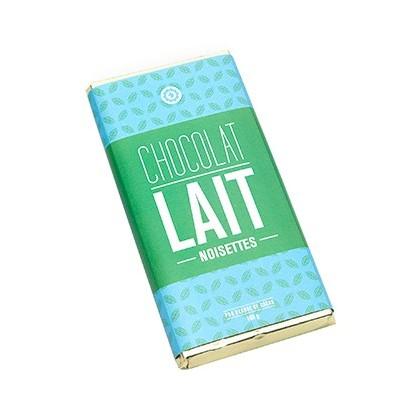 Tablette chocolat au lait et noisettes