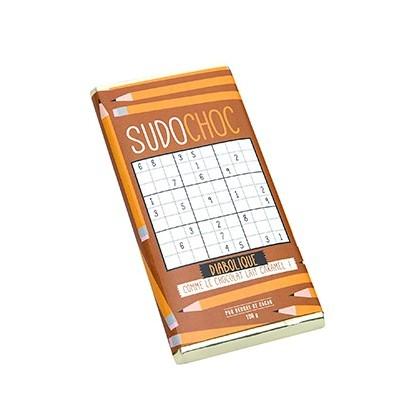 Tablette chocolat Sudoku