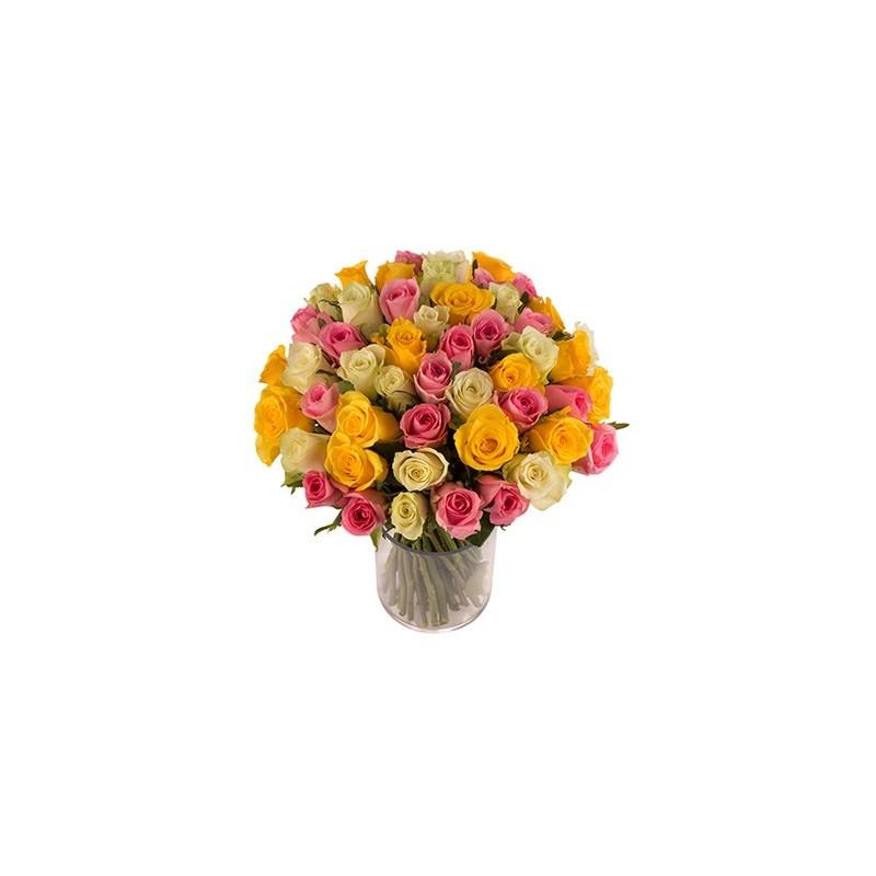 Bouquet de roses livraison de fleurs d 39 lys couleurs for Livraison fleurs etranger