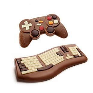 Cadeau geek chocolat