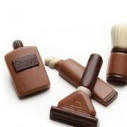 Set de rasage en chocolat
