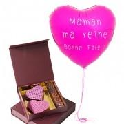Chocolats et Ballon Bonne fête Maman