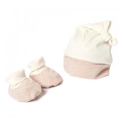 Cadeau naissance avec bonnet et chaussons