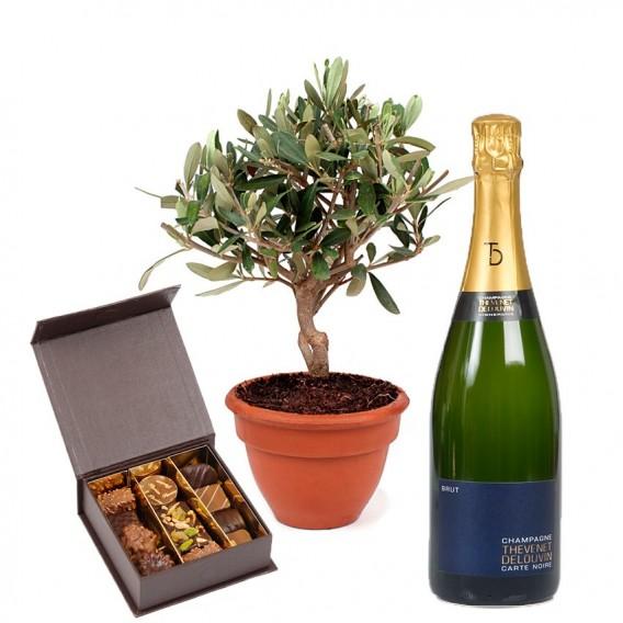 Chocolats, Olivier et Champagne