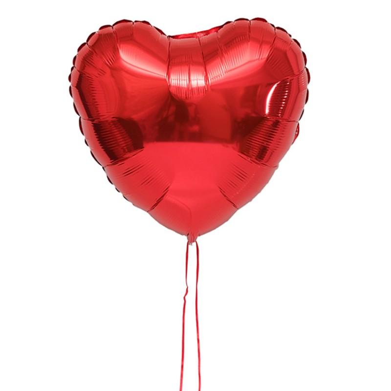Livraison Ballon Coeur Cadeau D Lys Couleurs