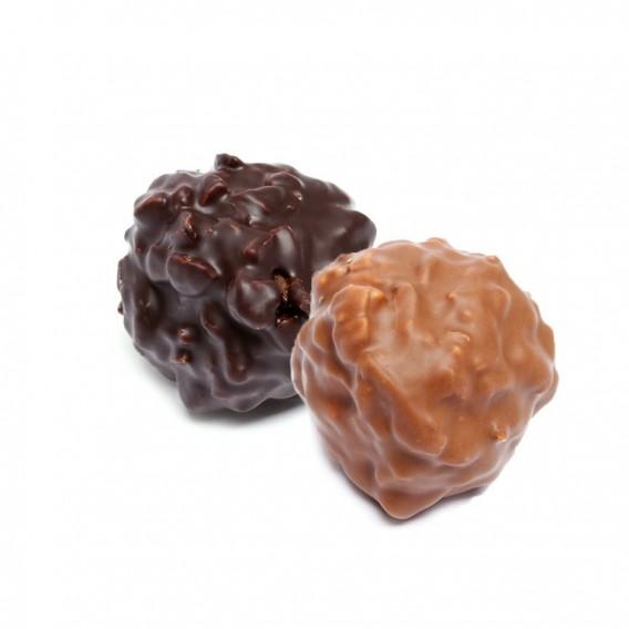 Rocher praliné au chocolat