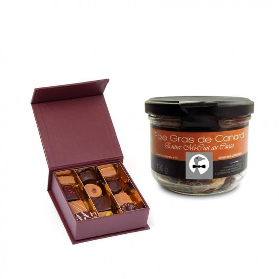 Foie gras et chocolat