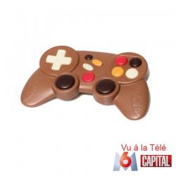 Manette de jeu en chocolat