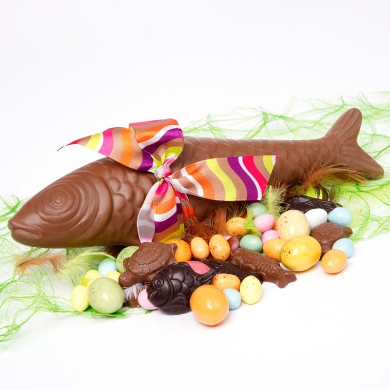 poisson de p ques en chocolat livraison chocolat d 39 lys. Black Bedroom Furniture Sets. Home Design Ideas
