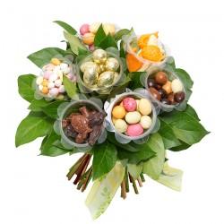 Bouquet chocolat de pâques