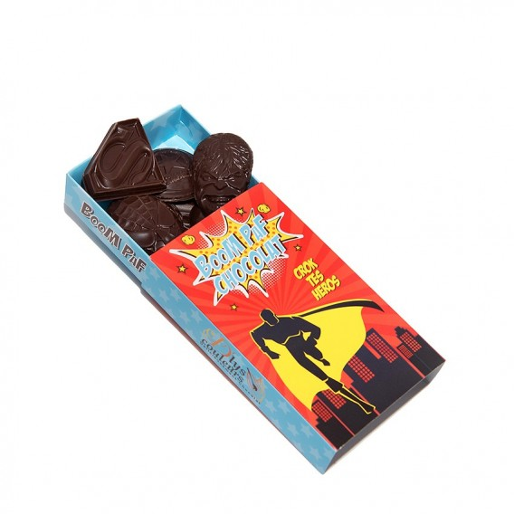 Chocolat Super Héros
