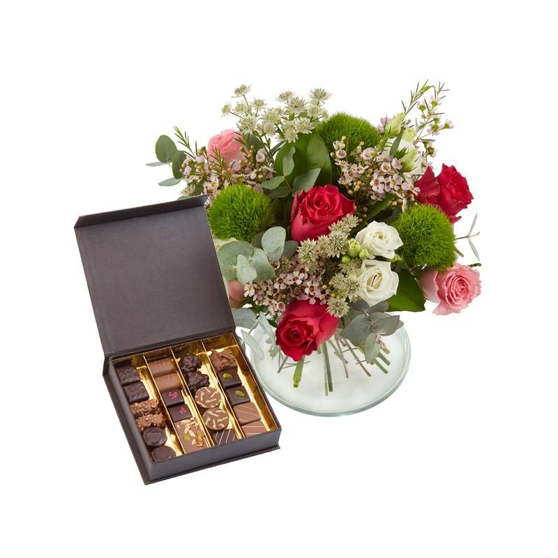 offrir fleurs et chocolat bouquet fleurs et chocolat d 39 lys couleurs. Black Bedroom Furniture Sets. Home Design Ideas