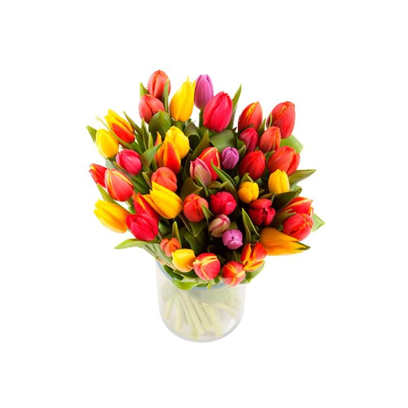 Bouquet de tulipes livraison fleurs et cadeaux d 39 lys for Fleurs et cadeaux