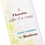 Tablette chocolat Muguet et Bonheur