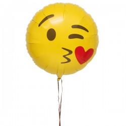 Ballon Emoji Bisous