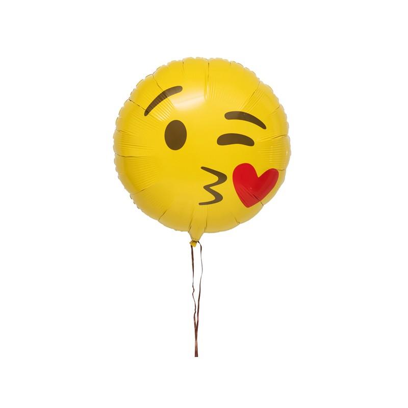 Livraison Ballon Emoji Bisous Cadeau Original D Lys Couleurs