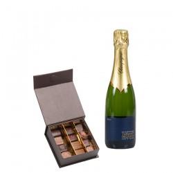 Livraison chocolat et Champagne en Europe