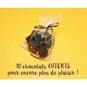 Sachet de 10 chocolats