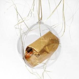 Boule de Noël Marron glacé (20g)