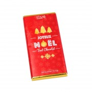 Tablette chocolat de Noël