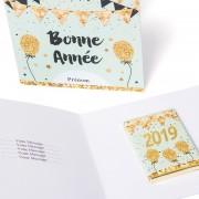 Carte Bonne Année et chocolat