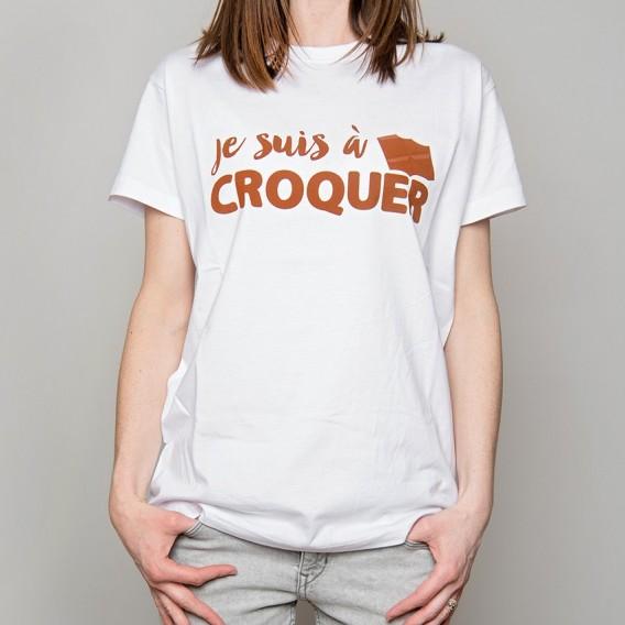 """Tee-shirt """"Je suis à croquer"""""""