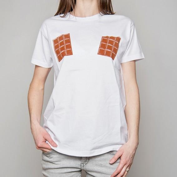 "Tee-shirt ""Tablettes de chocolat"""