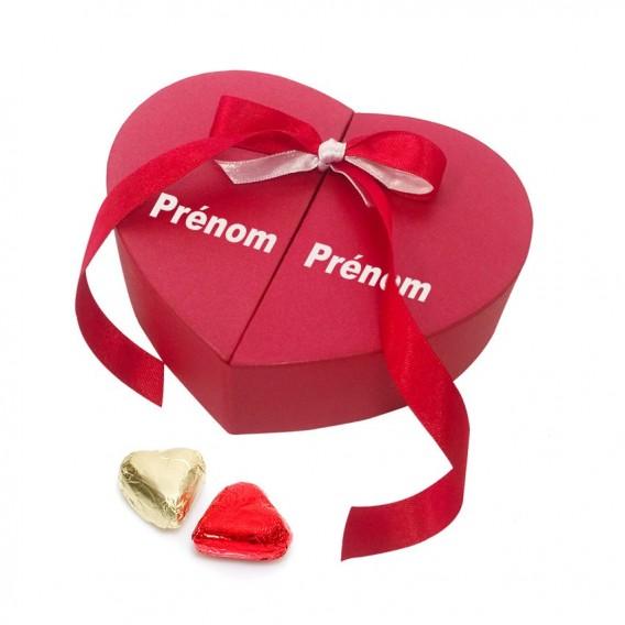 Coeur Chocolats saint valentin