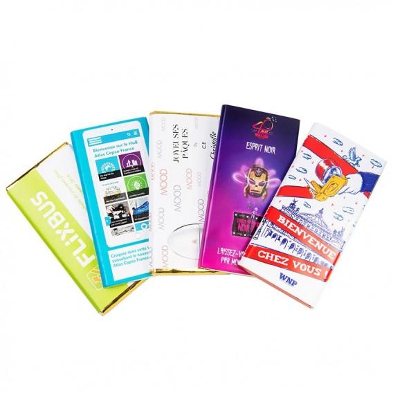 Tablette chocolat personnalisée sur devis