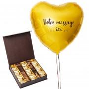 Chocolats et Ballon personnalisé