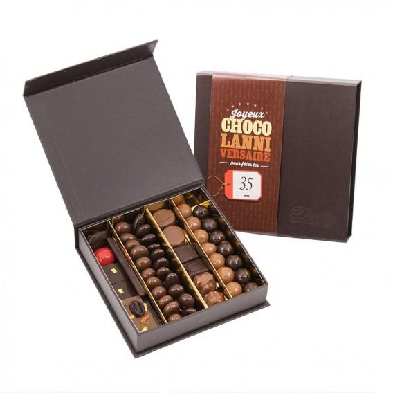 Boite de chocolats Anniversaire