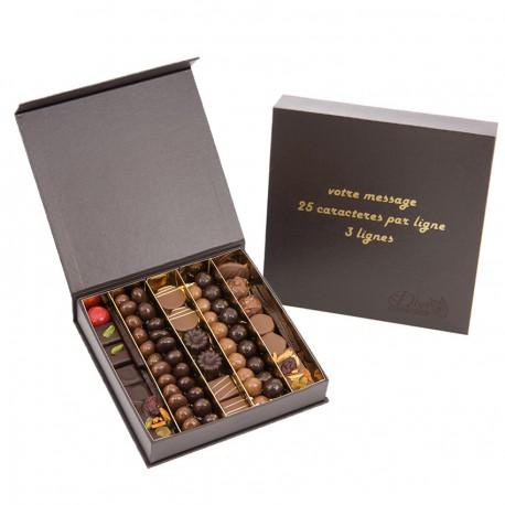 Chocolat à message personnalisé