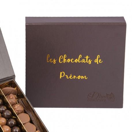 Boite de chocolat à personnaliser