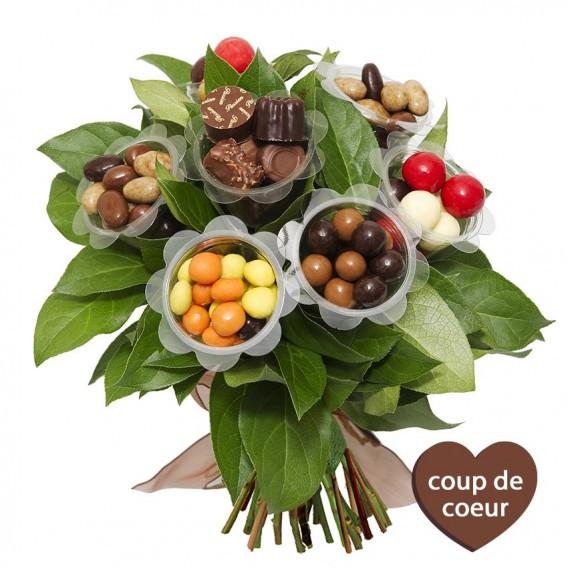 bouquet chocolat