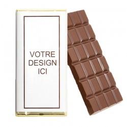 Tablette chocolat personnalisée