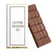 Tablette chocolat avec logo