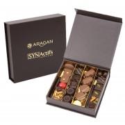 Boite de chocolat personnalisée avec logo
