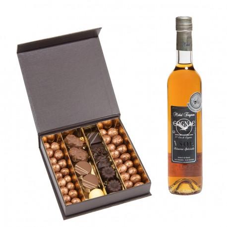 Cognac et chocolats de Noël
