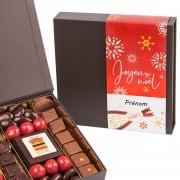 chocolat de noel personnalisé