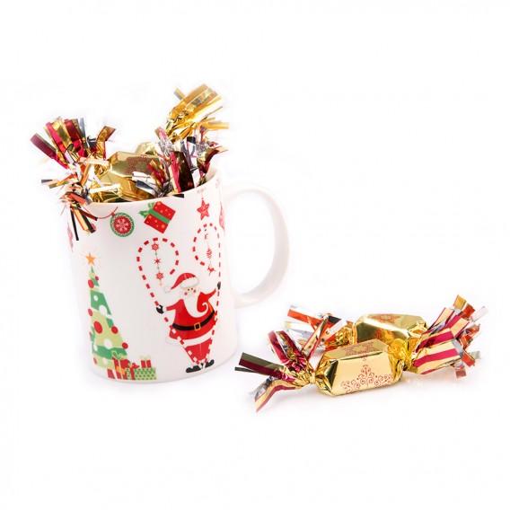 Mug chocolat de noël