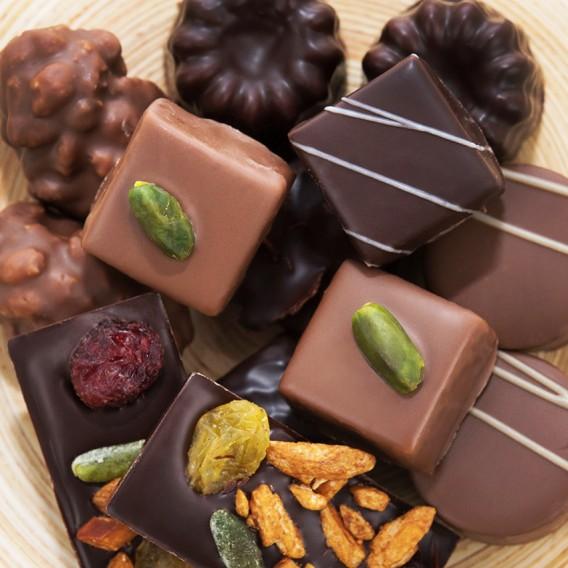 Vrac de chocolats