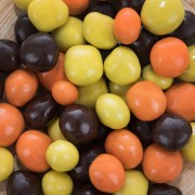Citrons et oranges confits enrobés de chocolat
